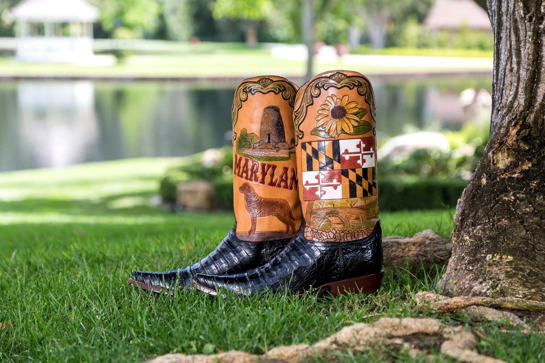 Maryland State Boot