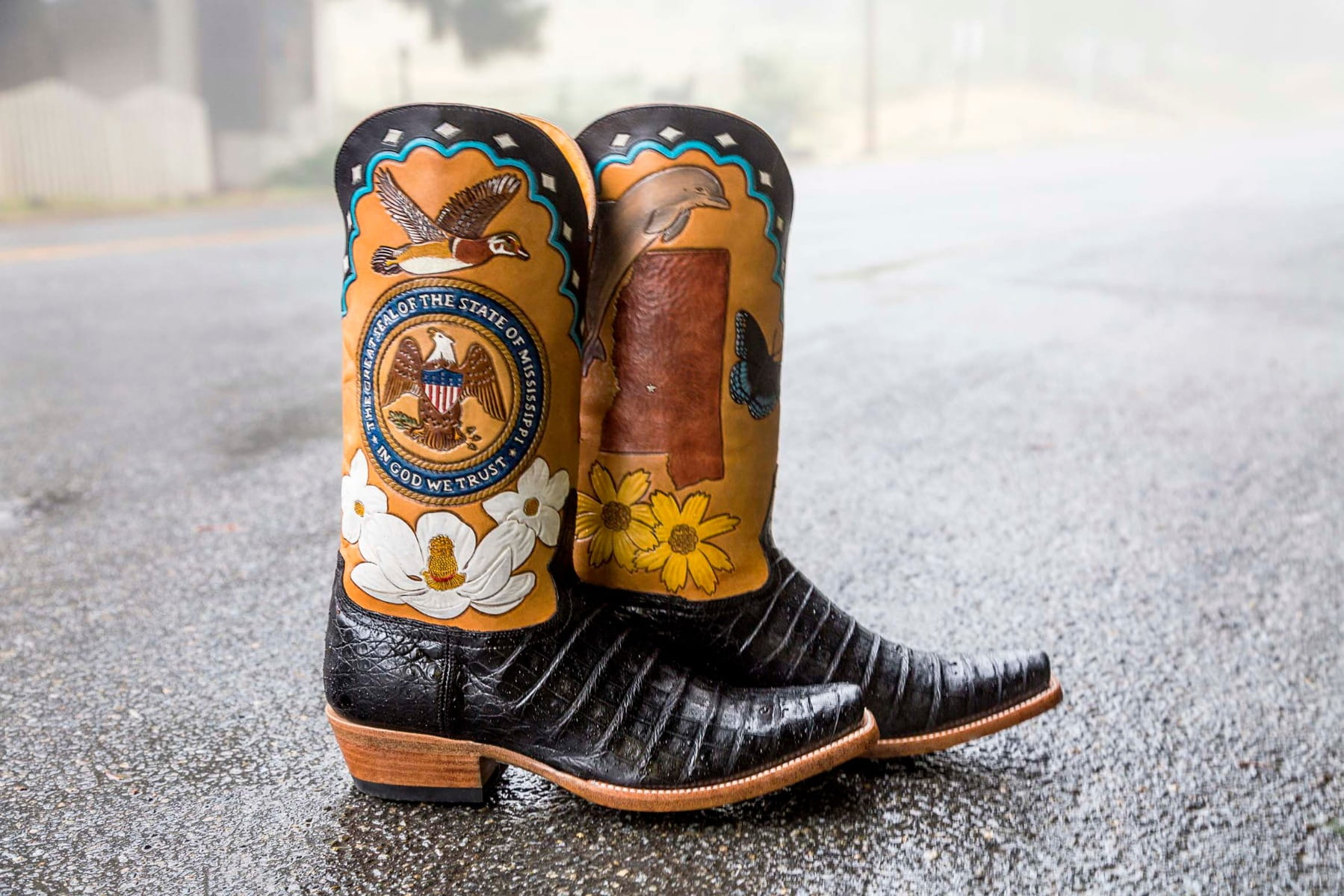 Mississippi State Boot