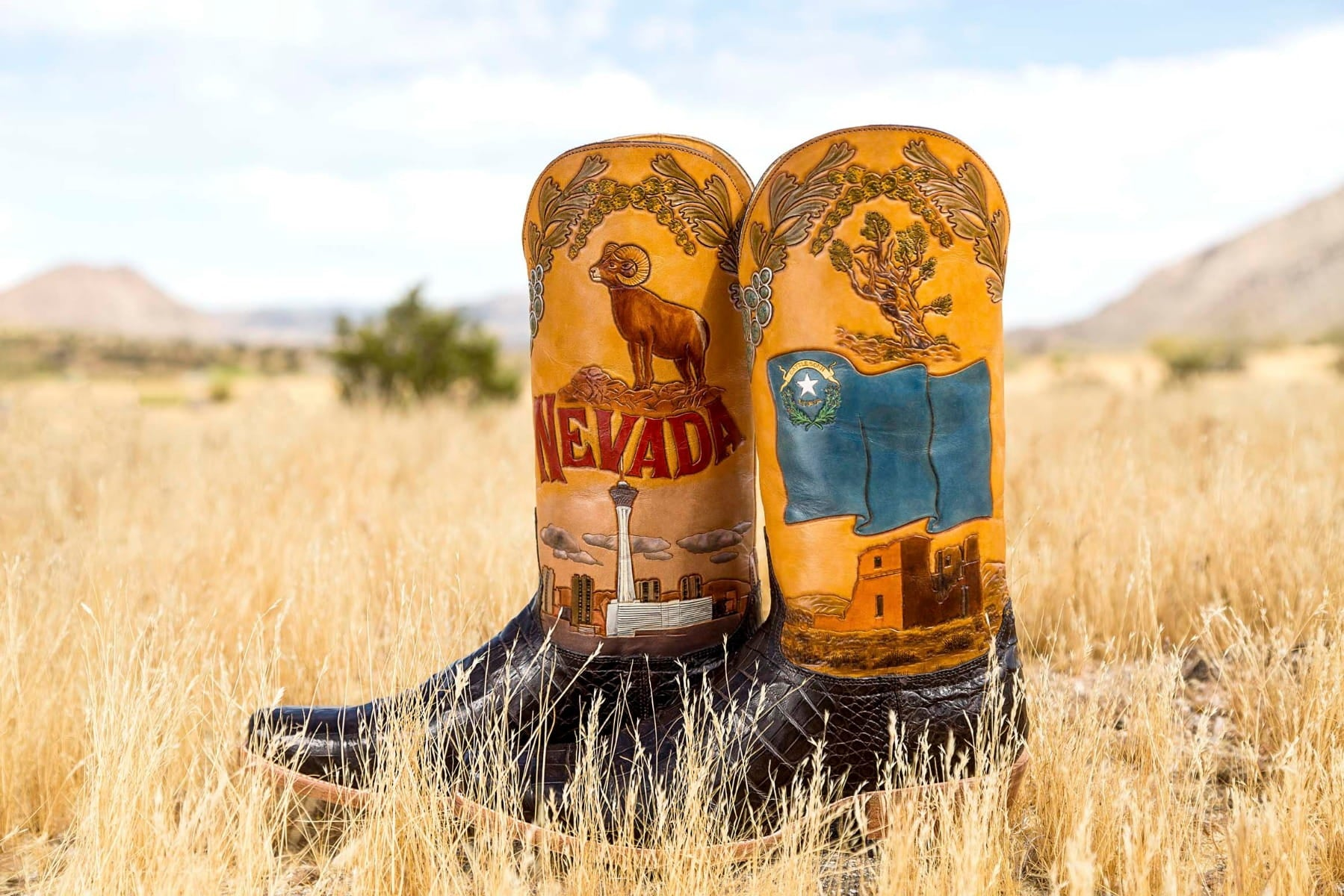 Nevada State Boot
