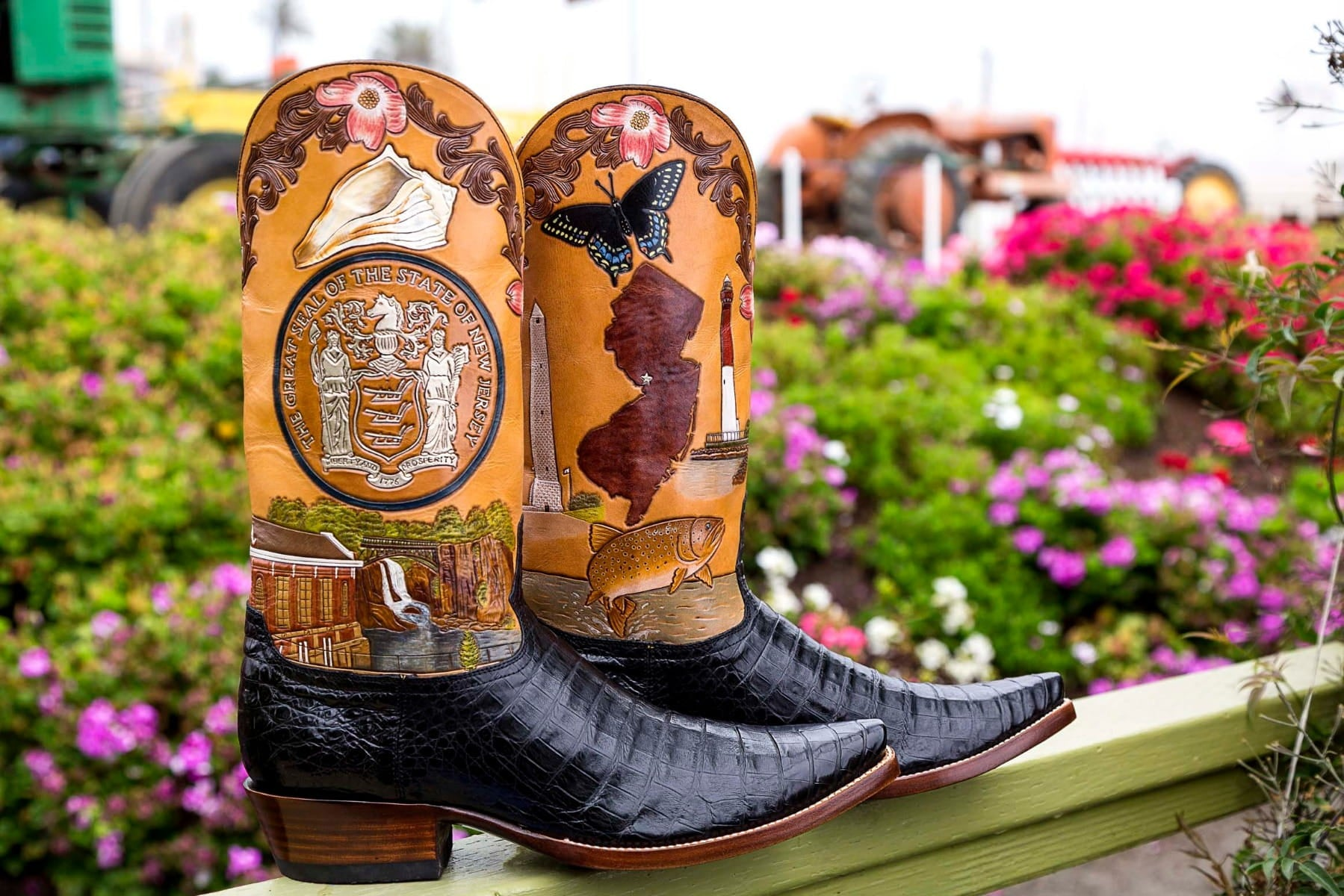 New Jersey State Boot
