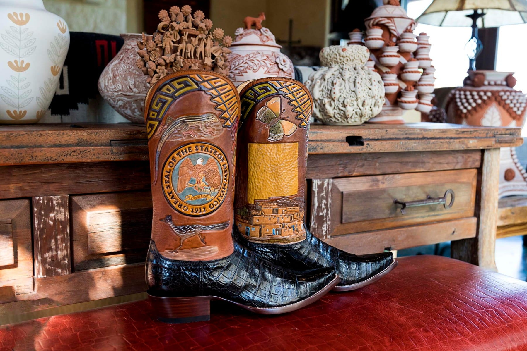 New Mexico State Boot