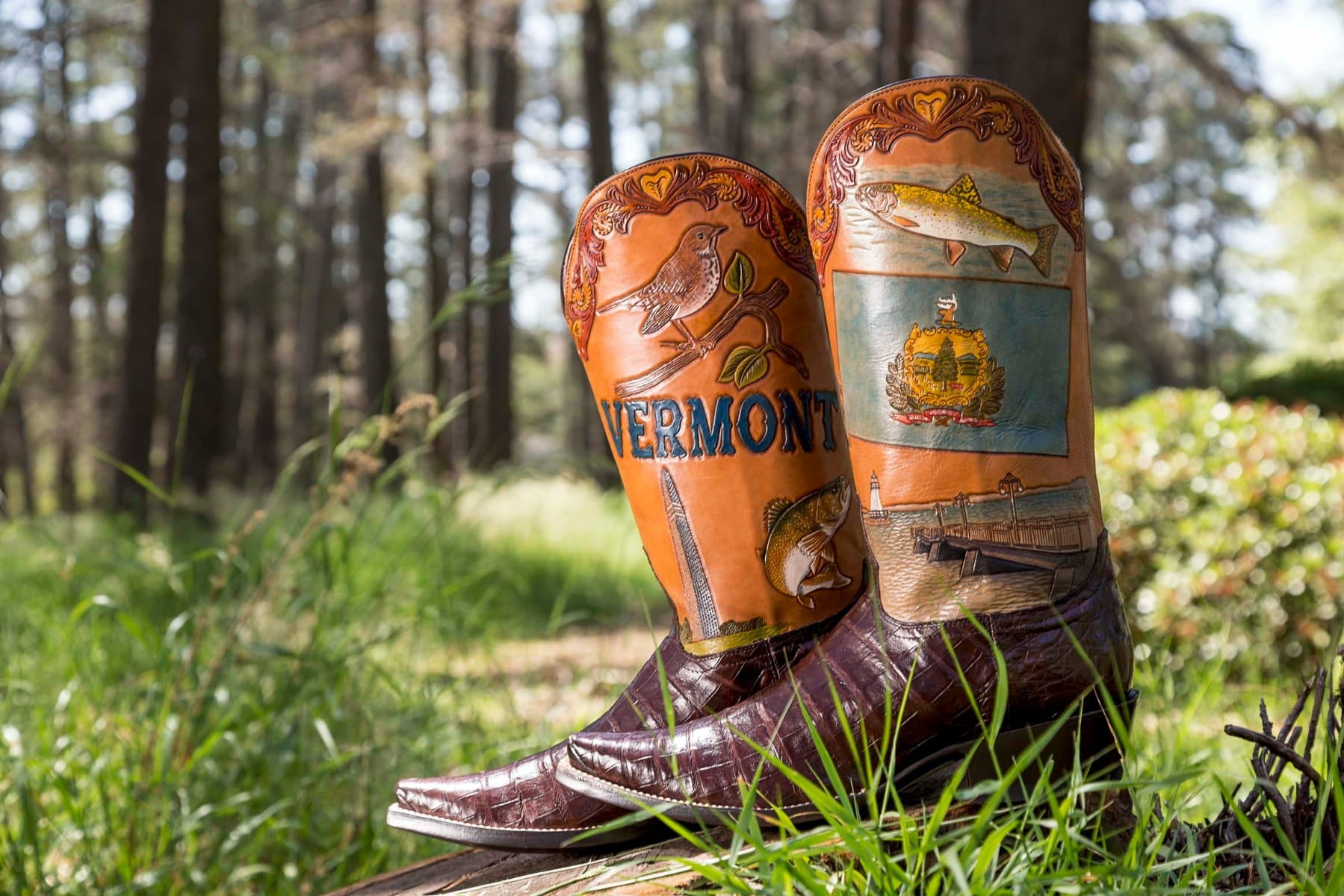 Vermont State Boot