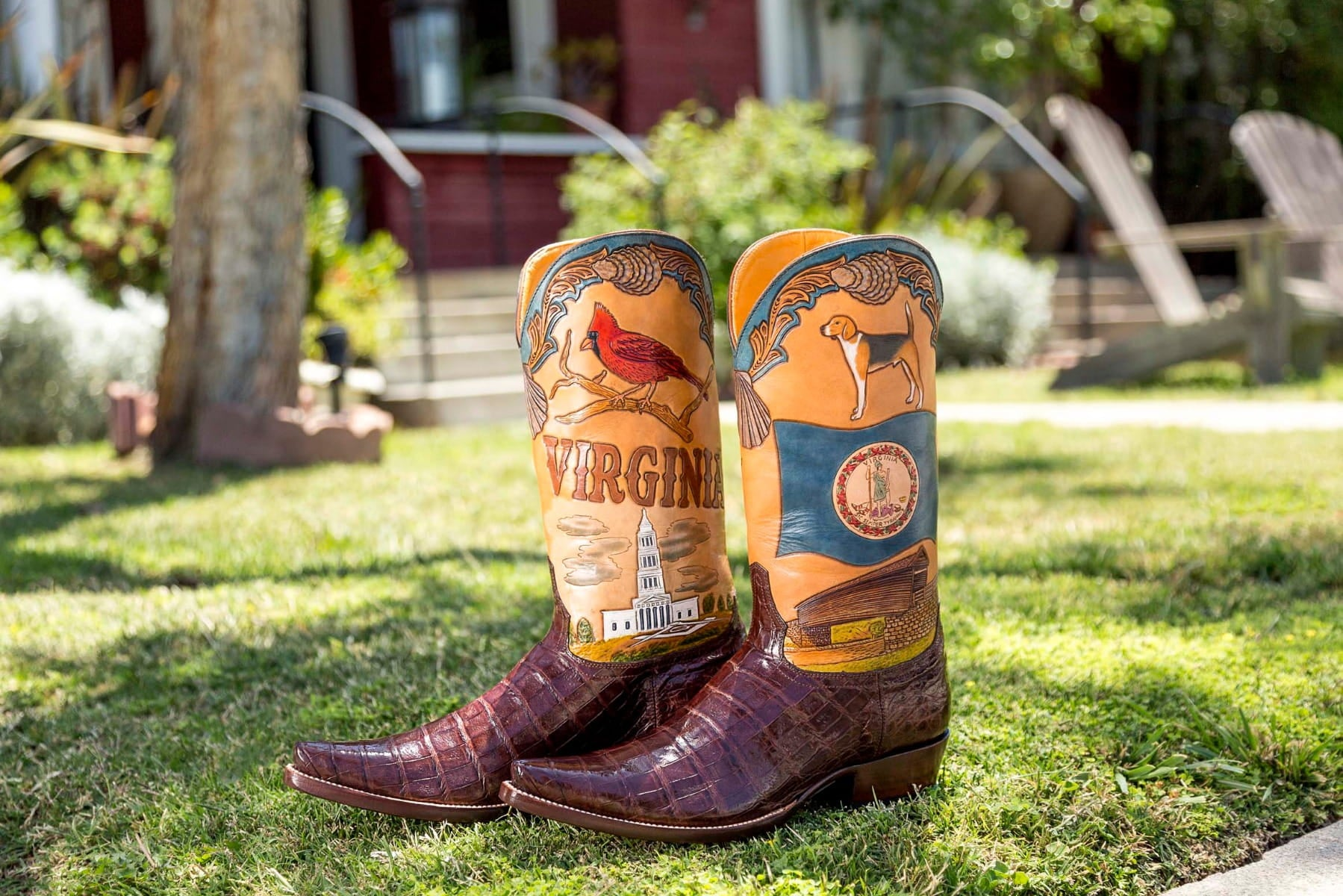 Virginia State Boot