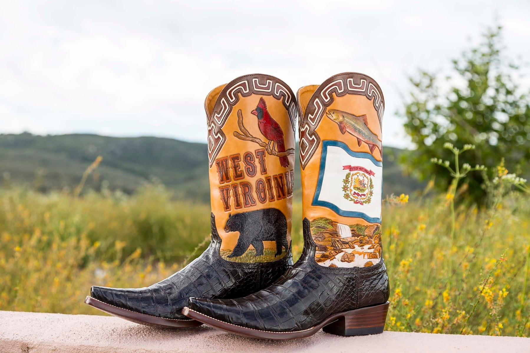 West Virginia State Boot