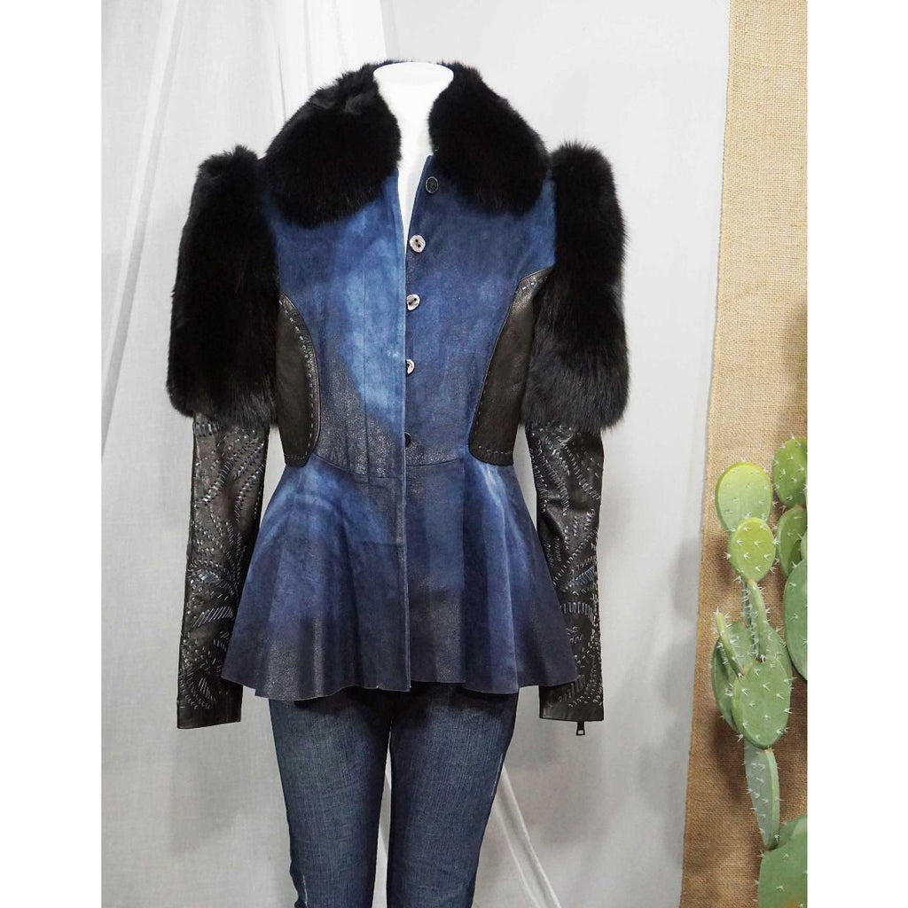 BLUE BREAK FUR - WOMEN'S