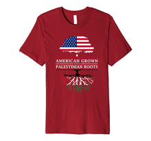 Afbeelding in Gallery-weergave laden, American Grown with Palestinian Roots - Palestine T-Shirt