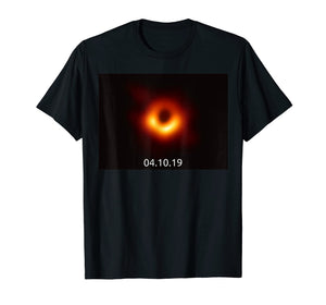Black Hole Picture T Shirt M87 Messier 87 First Ever 2019
