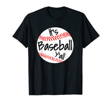Afbeelding in Gallery-weergave laden, It's Baseball Y'all Shirt Funny Pitcher Catcher Mom Dad Gift