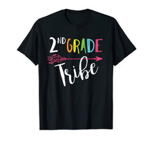 Afbeelding in Gallery-weergave laden, Team 2nd Second Grade Teacher Tribe Back To School T-Shirt