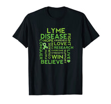 Afbeelding in Gallery-weergave laden, Lyme Disease Awareness Ribbon Support Walk T-shirt