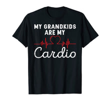 Afbeelding in Gallery-weergave laden, My Grandkids are My Cardio Funny Grandparent T-Shirt
