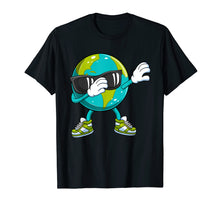 Afbeelding in Gallery-weergave laden, Dabbing Earth Day T Shirt Kids Boys Girls Dab Dance Gift