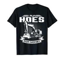 Afbeelding in Gallery-weergave laden, I Run Hoes For Money T-Shirts, Construction Workers Funny