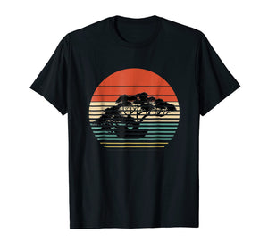 Bonsai tree T-shirt |Dwarf tree vintage Zen|Bonzai gardening