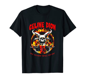 My Hear Sans attendre-Celine Go On Dion T-shirt Cool