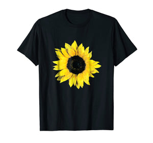 Pretty Oversize Flower Floral Sunflower Graphic T-Shirt