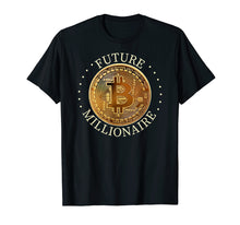 Afbeelding in Gallery-weergave laden, Bitcoin shirt - Future Millionaire