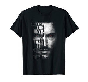 Better The Devil You Know - Lucifer Shirt For Fans