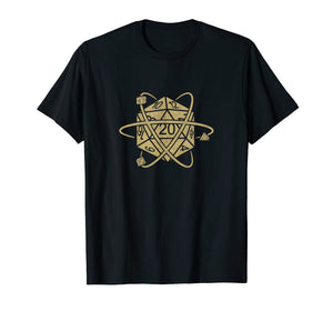 Tabletop RPG Vintage Game shirt Master Role Play T-Shirt