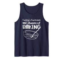 Afbeelding in Gallery-weergave laden, Today's Forecast 100% Chance of Baking Funny Baker Tank Top