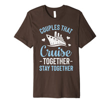 Afbeelding in Gallery-weergave laden, Couples That Cruise Together Stay Together T shirt Matching