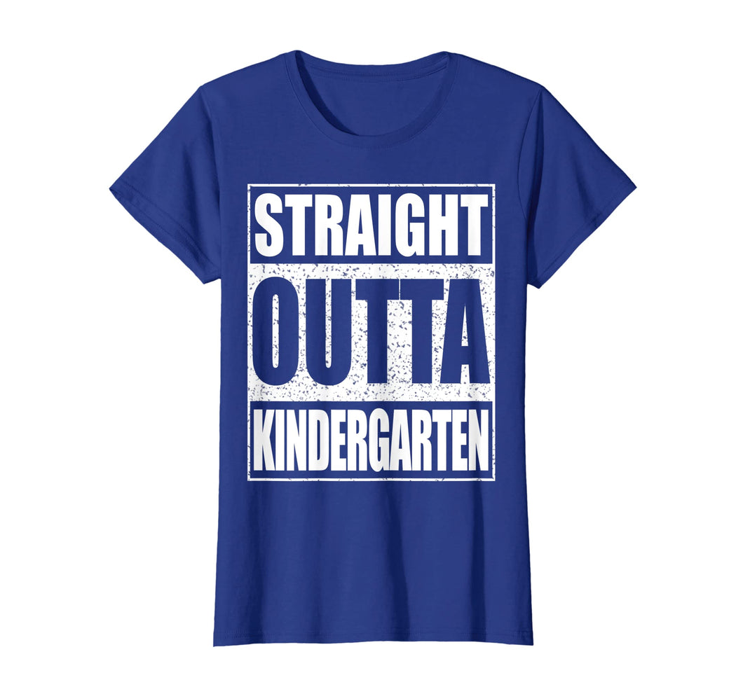 Straight Outta Kindergarten T-Shirt Funny Graduation Gift