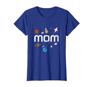 Mom Outer Space Birthday Party T-Shirt