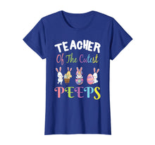 Afbeelding in Gallery-weergave laden, Teacher Easter Shirt Teacher of the cutest Peeps bunnies tee