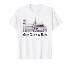Notre Dame de Paris Cathedral T-Shirt