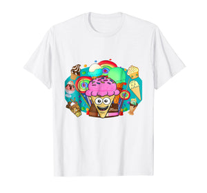 Kids Its Funneh logo cute for kids Icecream Gifts T-shirt