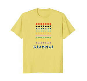 Montessori Grammar Material Shirt Gift Teacher Toddler Kid