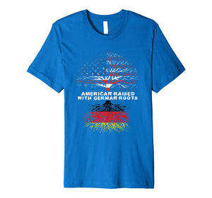 American Raised with German Roots Germany T-Shirt