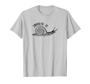 Snailed it T-Shirt Funny Snail Pun Funny Animals