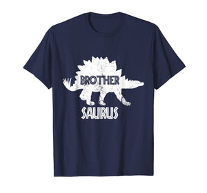 Brother Saurus Dinosaur Shirt Matching Family Tribe Bro