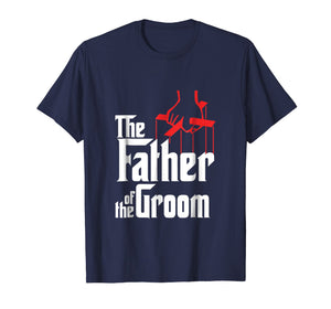 Mens Father of the Groom T-Shirt