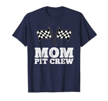 Afbeelding in Gallery-weergave laden, Mom Pit Crew | Hosting Car Race Birthday Party T-Shirt