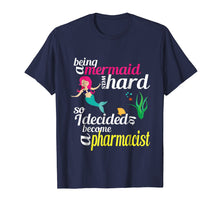 Afbeelding in Gallery-weergave laden, Pharmacist Mermaid PharmD T-shirt Funny Pharmacy Gift