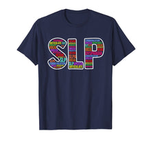 Afbeelding in Gallery-weergave laden, Speech Pathology Novelty Shirt SLP Word Cloud T-Shirt