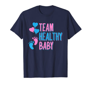 Team Healthy Baby Shirt | Future Parents Baby Shower Gift
