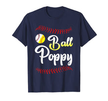 Afbeelding in Gallery-weergave laden, Ball Poppy Love Softball Baseball Player T-Shirt