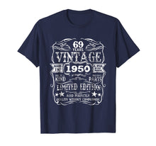Afbeelding in Gallery-weergave laden, Made In 1950 69 Years Old Vintage 69th Birthday Gift T-Shirt
