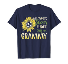 Afbeelding in Gallery-weergave laden, My Favorite Soccer Player Calls Me Grammy T-Shirt