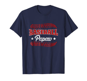 Men's Sport Baseball Papaw T-Shirt,Love Playing Baseball