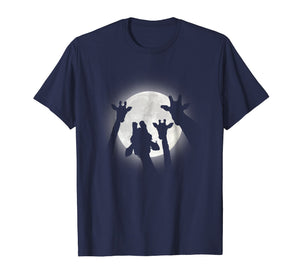 Moonlight Selfie T Shirt Design