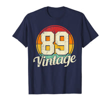 Afbeelding in Gallery-weergave laden, 30th Birthday T-Shirt - Vintage 1989 Retro Shirt Gift Idea