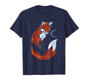 Tribal tail fox T-shirt graphic design Tshirt