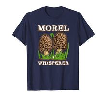 Afbeelding in Gallery-weergave laden, Morel Mushroom Whisperer fungi picking t shirt 2019