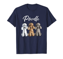 Afbeelding in Gallery-weergave laden, Cute Poodle T-Shirt I Caniche Puppy Dogs Gift Tee Women Girl