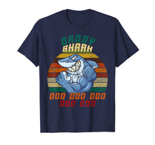 Afbeelding in Gallery-weergave laden, Daddy Shark T-shirt Doo Doo Doo Gifts for Father Dad
