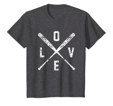 Afbeelding in Gallery-weergave laden, Love Baseball Bats Shirt, Baseball Mom Softball Dad Gift